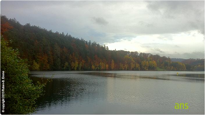 Twistesee im Herbst