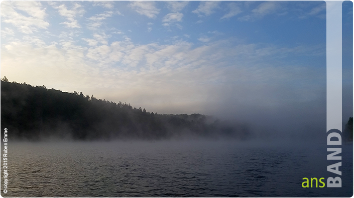 Nebel überm Twistesee
